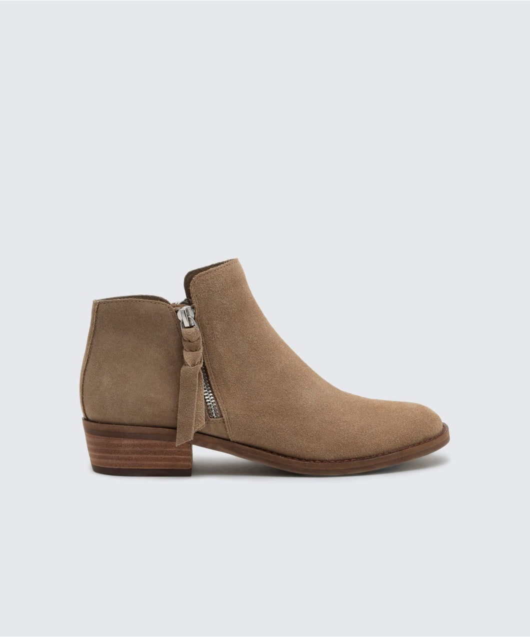 SYLVIA BOOTIES IN DK TAUPE -   Dolce Vita