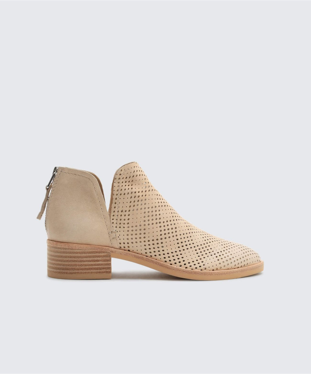 TAURIS BOOTIES IN SAND -   Dolce Vita