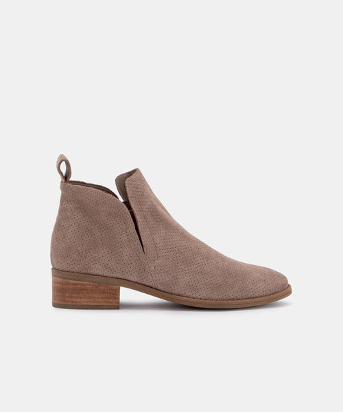 TIVON PEF BOOTIES IN LT TAUPE -   Dolce Vita