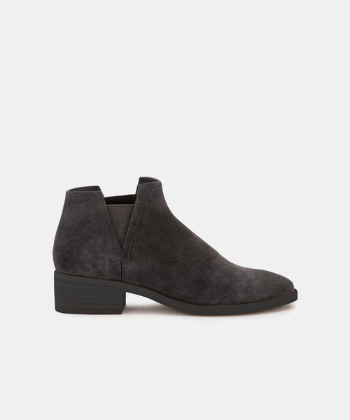 TOVAH BOOTIES IN ANTHRACITE -   Dolce Vita