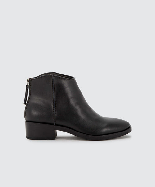 TRENA BOOTIES IN BLACK -   Dolce Vita