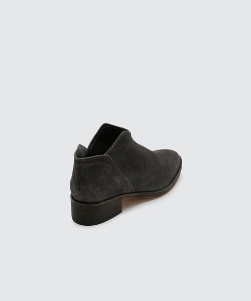 TRIST BOOTIES IN ANTHRACITE -   Dolce Vita