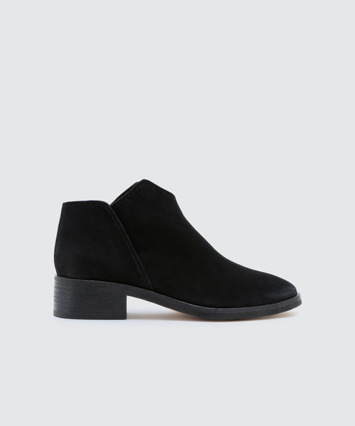 TRIST BOOTIES IN ONYX -   Dolce Vita