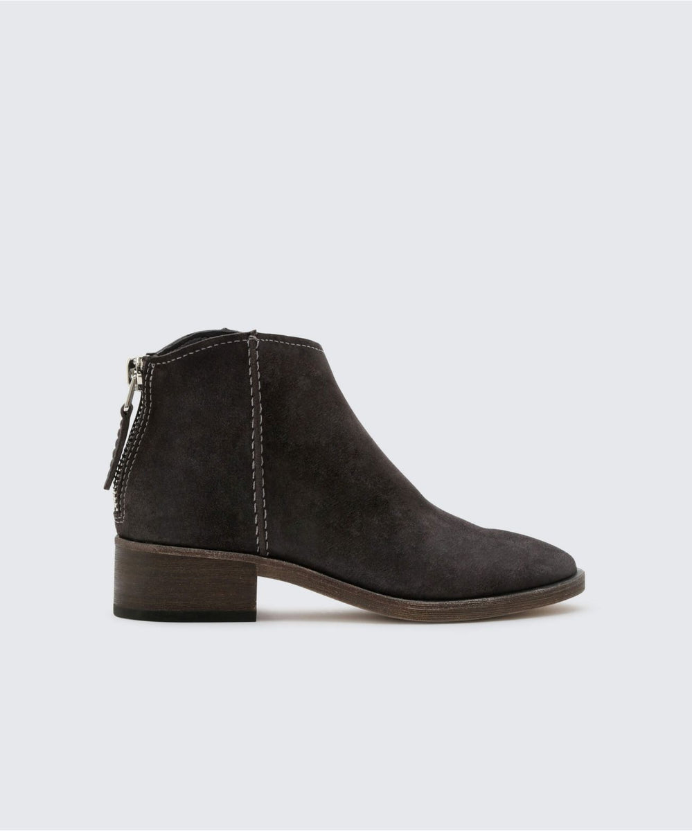 4b1d0e8cef6 TUCKER BOOTIES IN ANTHRACITE – Dolce Vita