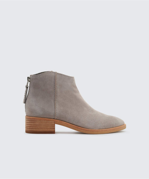 TUCKER BOOTIES IN SMOKE -   Dolce Vita