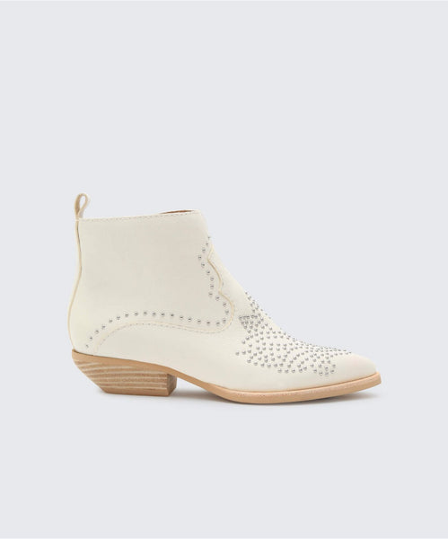UMA BOOTIES IN OFF WHITE -   Dolce Vita