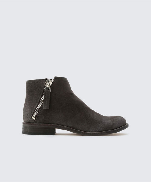 VESA BOOTIES IN ANTHRACITE -   Dolce Vita