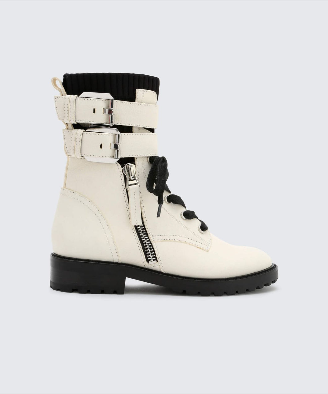 WYLIE BOOTIES IN OFF WHITE -   Dolce Vita