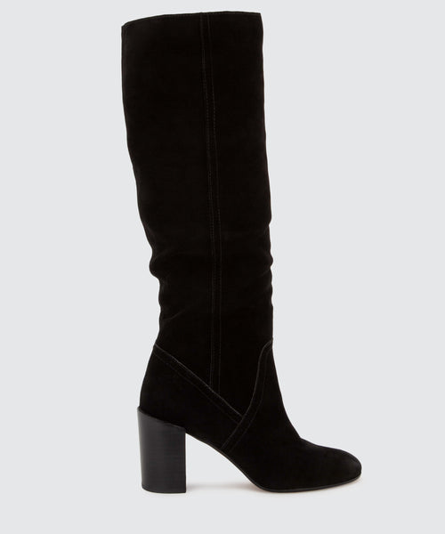 CORMAC BOOTS IN BLACK -   Dolce Vita