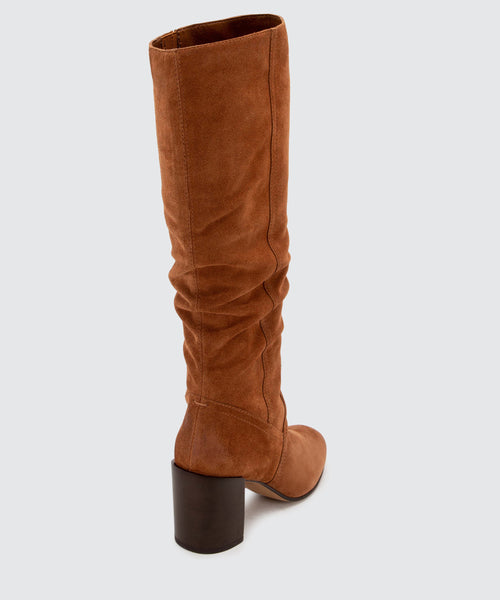 CORMAC BOOTS IN BROWN -   Dolce Vita