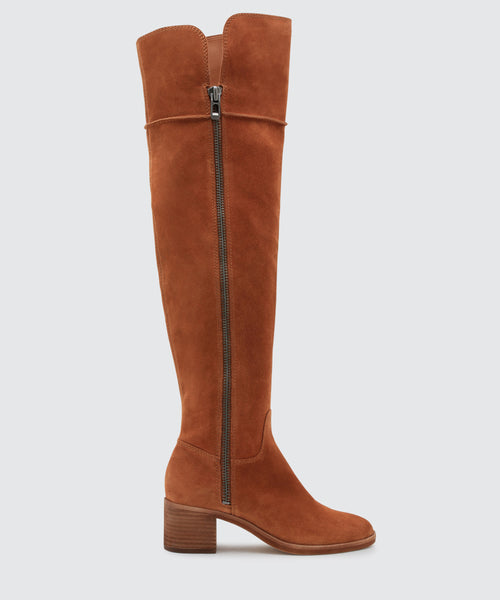 DORIEN BOOTS IN BROWN -   Dolce Vita