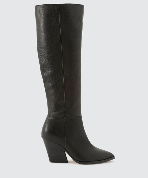 ISOBEL BOOTS IN BLACK -   Dolce Vita
