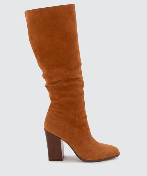 KASIDY BOOTS IN BROWN -   Dolce Vita