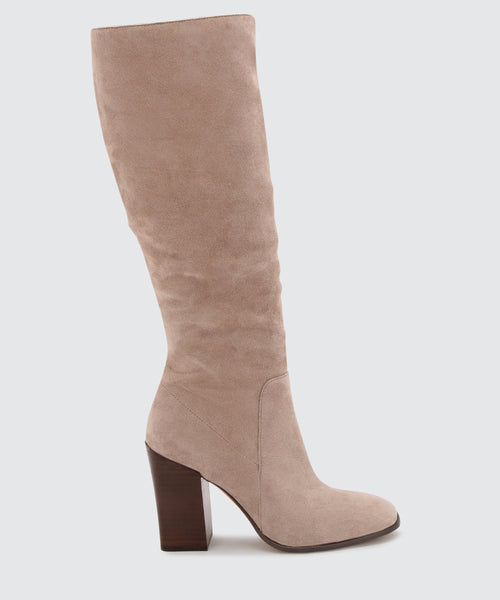 KASIDY BOOTS IN DK TAUPE -   Dolce Vita
