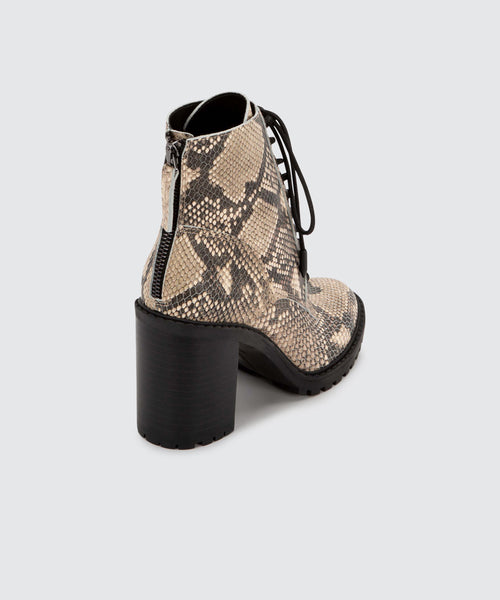 NORMA BOOTS IN SNAKE -   Dolce Vita