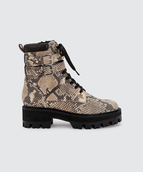 PALINE BOOTS IN SNAKE -   Dolce Vita