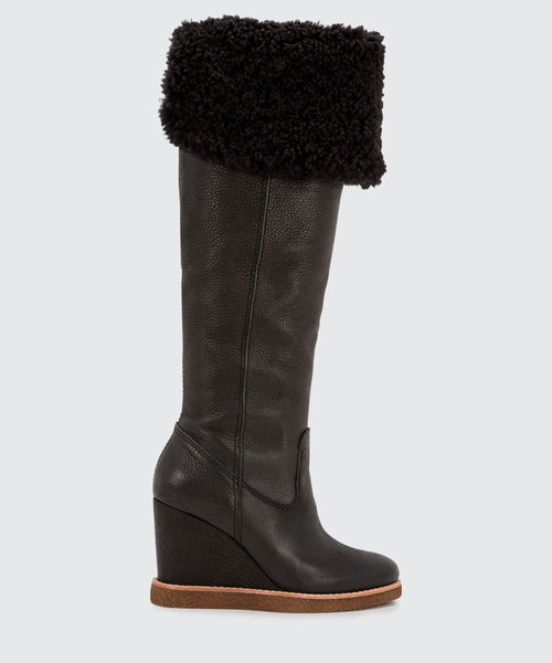 PERLY BOOTS IN BLACK -   Dolce Vita