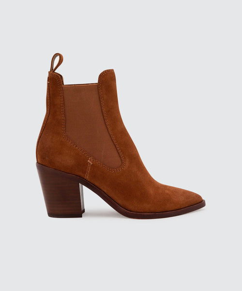 SABIL BOOTIES IN BROWN -   Dolce Vita