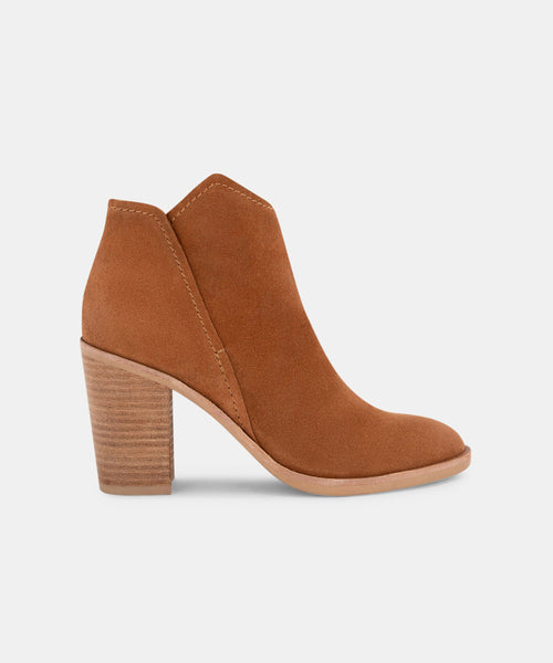 SHEP BOOTIES IN BROWN -   Dolce Vita