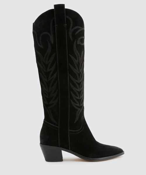 SOLEI BOOTS IN BLACK -   Dolce Vita