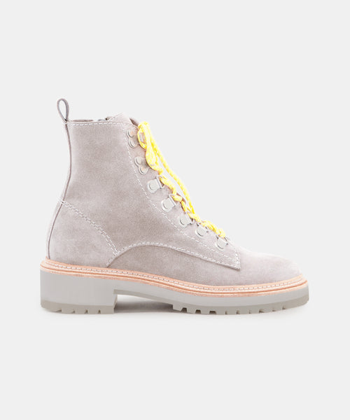 WHITNY BOOTS IN GREY SUEDE -   Dolce Vita