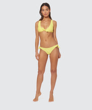 DAY GLOW TIE SIDE BOTTOM IN ACID YELLOW -   Dolce Vita