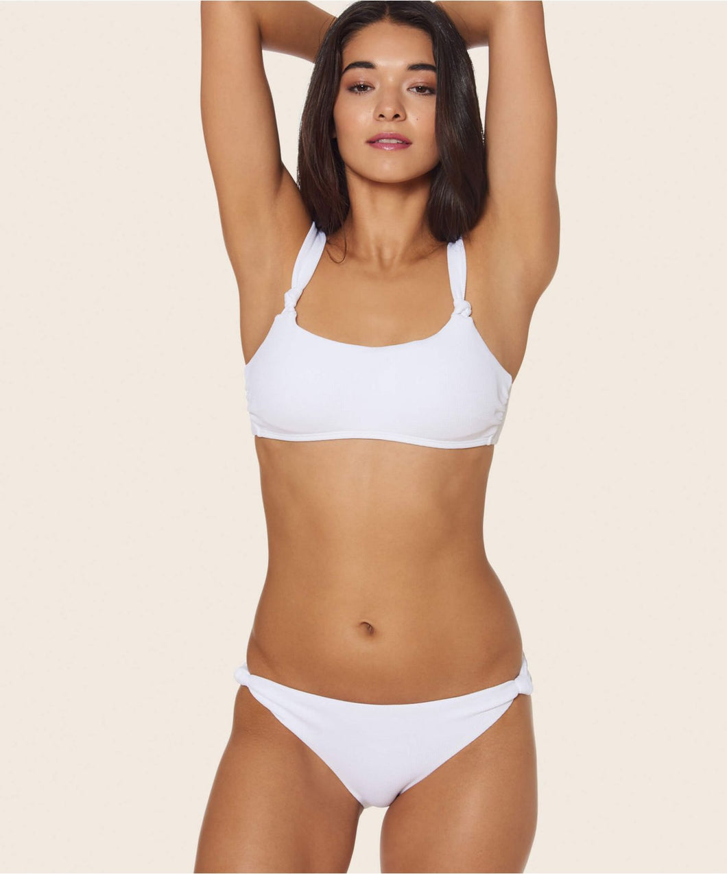 KNOTTY SCOOP BOTTOM WHITE -   Dolce Vita