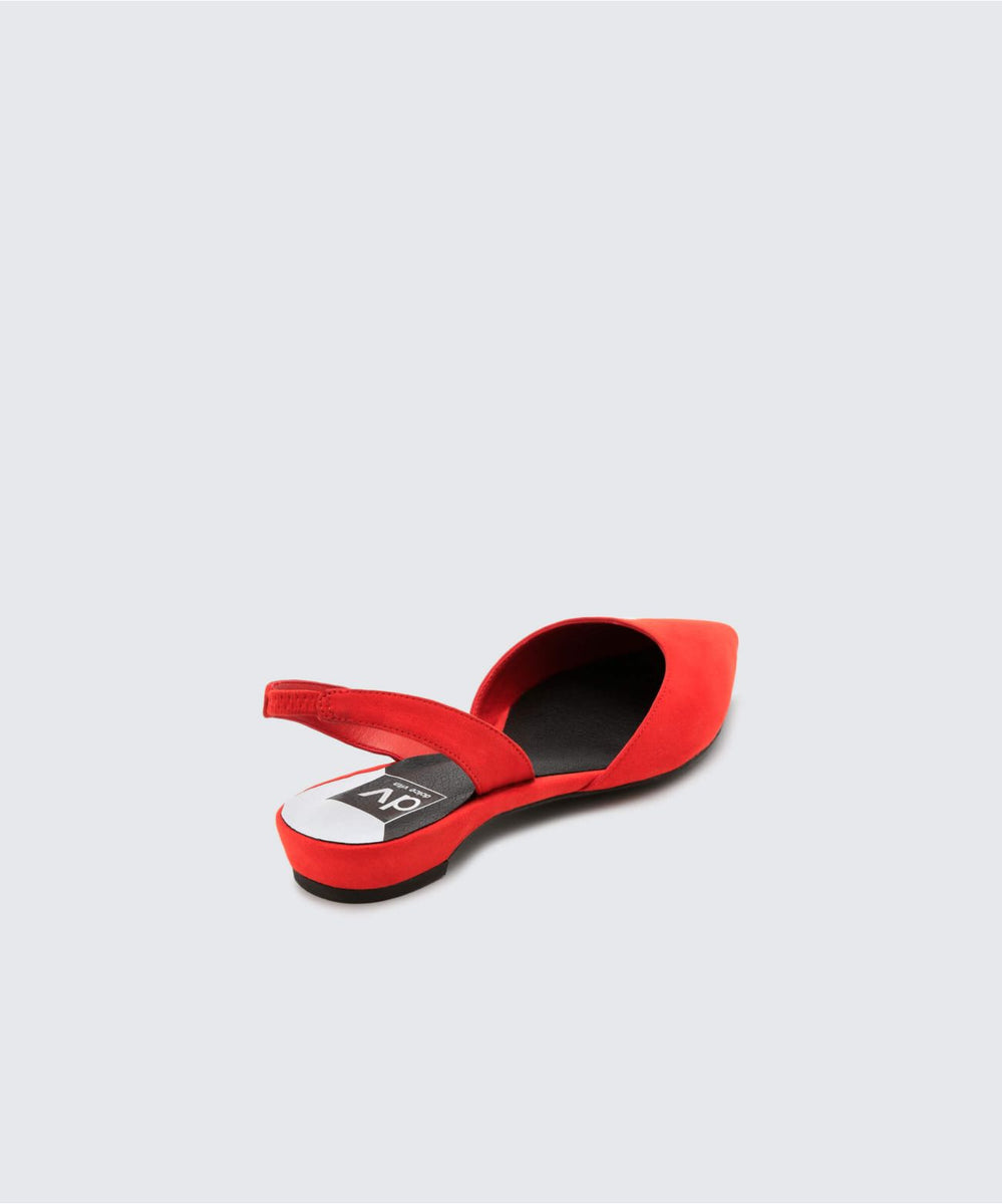 43336ad1202ab AIM FLATS IN RED