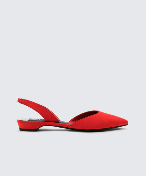 AIM FLATS IN RED -   Dolce Vita