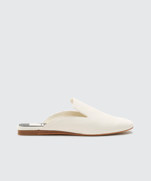 BRIE FLATS IN OFF WHITE -   Dolce Vita