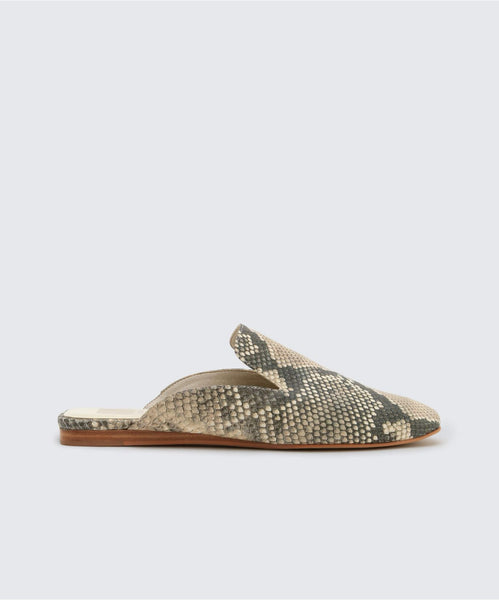 BRIE FLATS IN SNAKE -   Dolce Vita