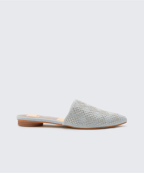 ELVAH FLATS LIGHT BLUE -   Dolce Vita
