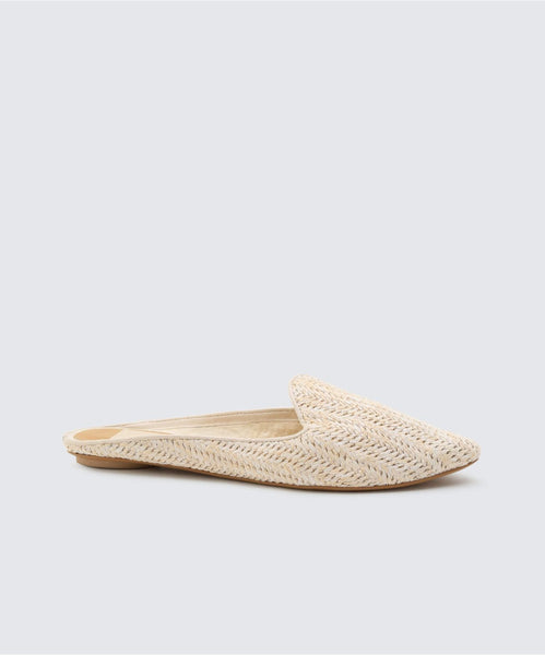 GRANT FLATS IN IVORY -   Dolce Vita
