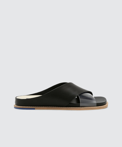 GRIFF SANDALS IN BLACK -   Dolce Vita
