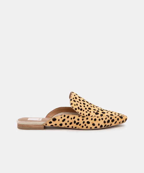 HALEE FLATS IN LEOPARD -   Dolce Vita