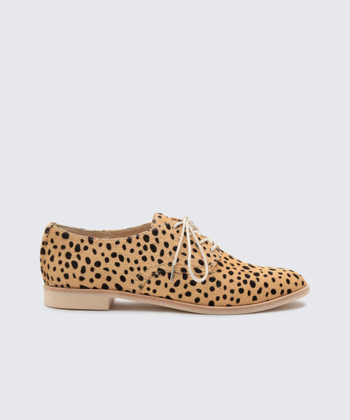 KYLE FLATS IN LEOPARD -   Dolce Vita