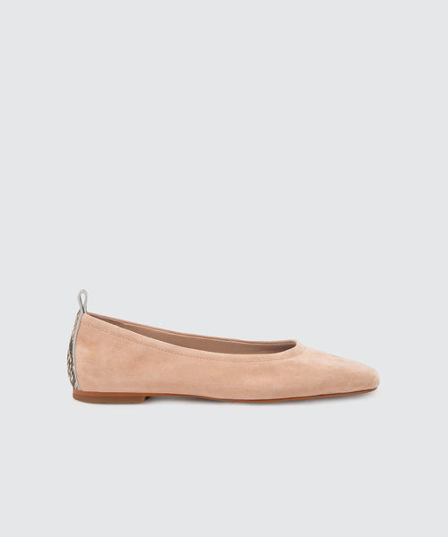 OZZIE FLATS IN NATURAL -   Dolce Vita