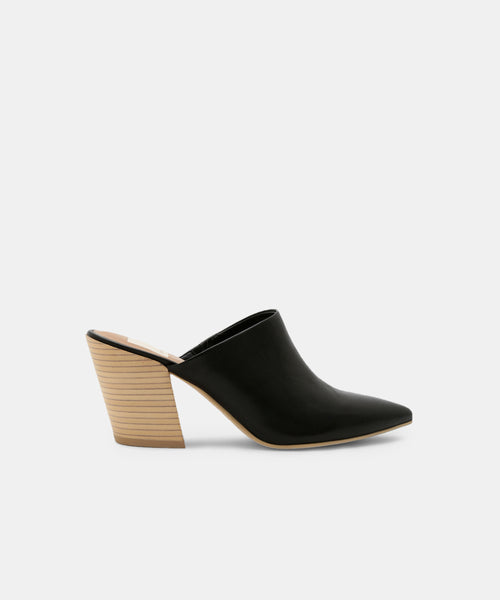 ANGELA MULES IN BLACK -   Dolce Vita