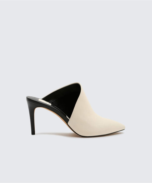CAMALA HEELS IN OFF WHITE -   Dolce Vita