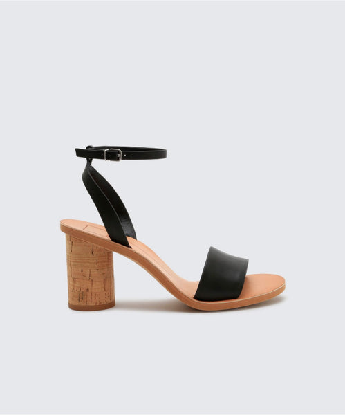 JALI HEELS IN BLACK -   Dolce Vita