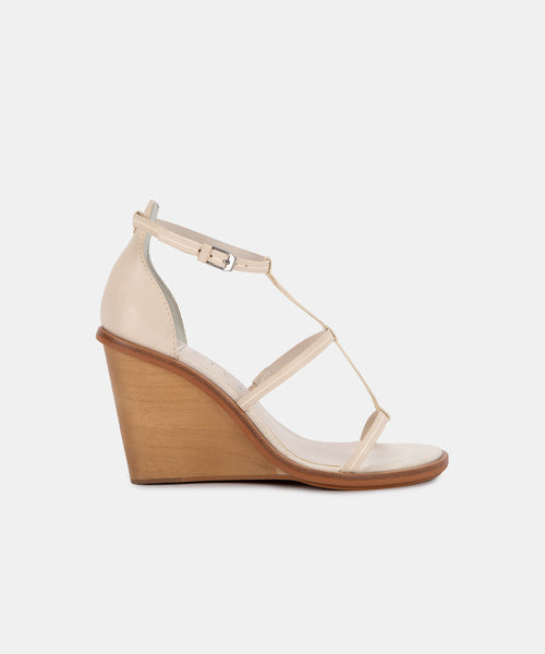 JEANA WEDGES IN IVORY -   Dolce Vita