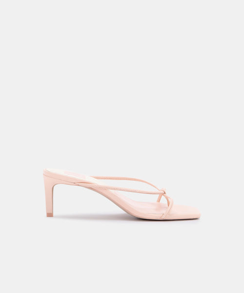 KAYDEN HEELS IN ROSE LEATHER -   Dolce Vita