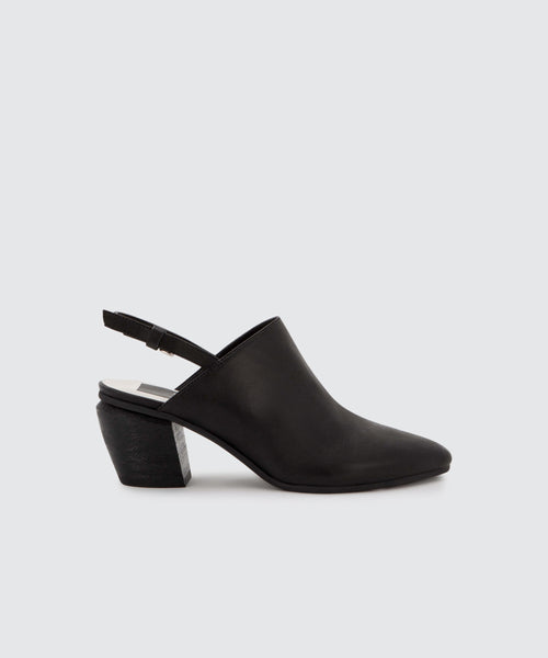 LANEY MULES IN BLACK -   Dolce Vita