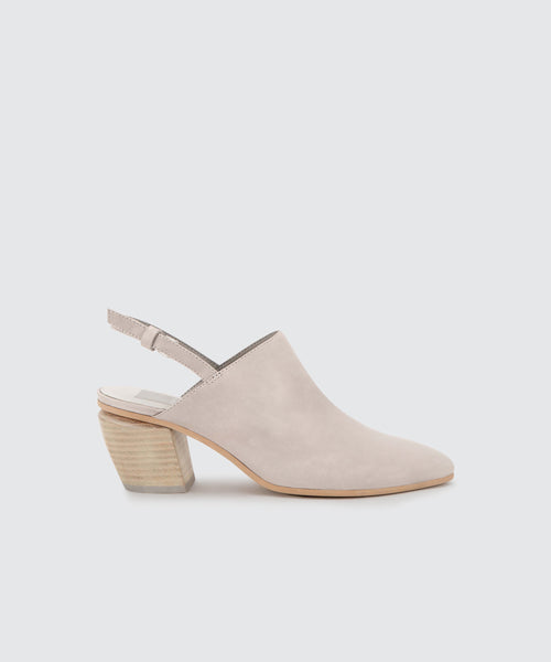 LANEY MULES IN GREY -   Dolce Vita