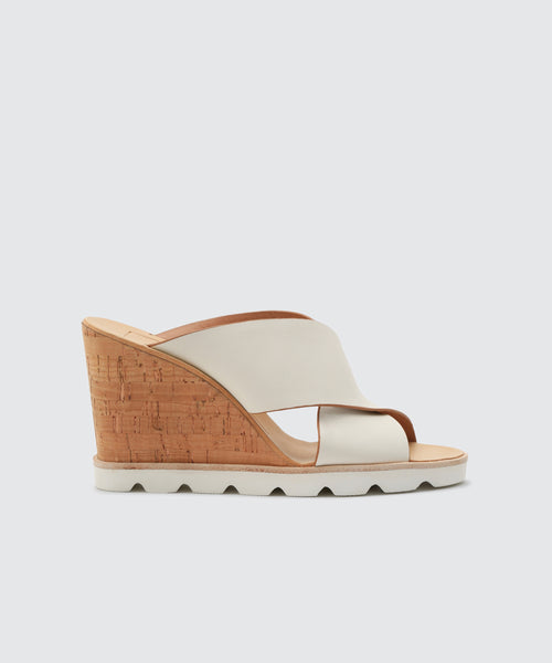LIDA WEDGES WHITE -   Dolce Vita
