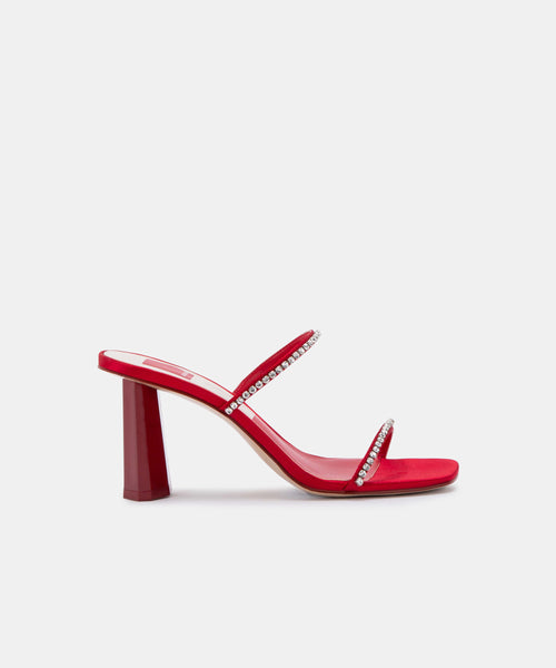 NAYLIN HEELS IN RED -   Dolce Vita