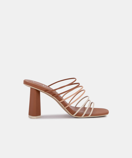 NICKI HEELS IN NUDE MULTI ECO STELLA -   Dolce Vita