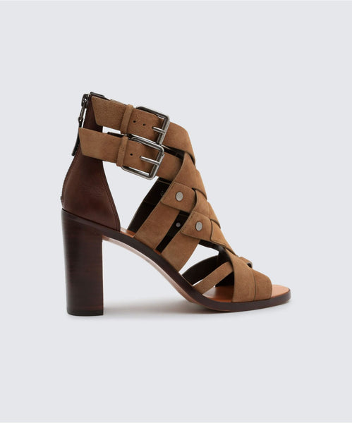 NOREE HEELS IN OLIVE -   Dolce Vita