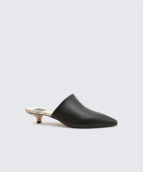 OBIE HEELS IN BLACK -   Dolce Vita