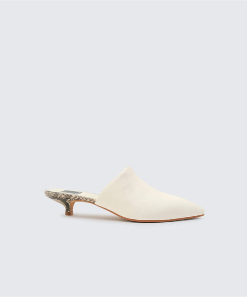 OBIE HEELS IN OFF WHITE -   Dolce Vita
